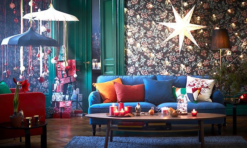 La Navidad se renueva: cómo mantener el espíritu de esta época sin árbol ni belén Ideas para dar un giro a la decoración de esta época y lograr estancias originales, llenas de color y con sentido del humor. La versión más extravagante de las fiestas llega a tu casa.
